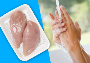 Wash hands, don't wash chicken, campylocbacter, poultry