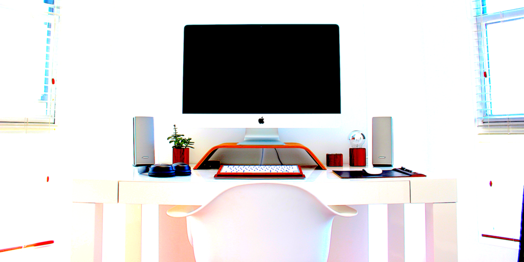 Desk set up, ergonomics, office ergonomics, VDU. DSE